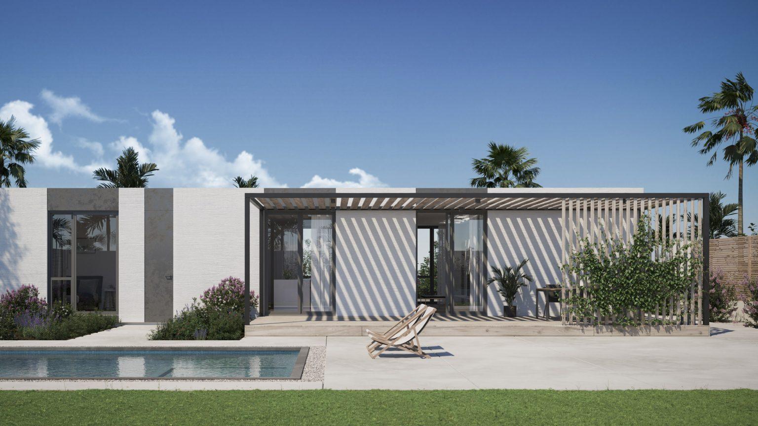 Mighty Buildings quy hoạch vùng lân cận của những ngôi nhà in 3D cho California